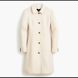 lady day coat Italian double-cloth wool Thinsulate